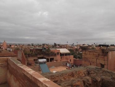 View from the El Badi Palace